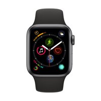 iBite Nitra - Apple Watch Series 4 GPS, 40mm Space Grey Aluminium Case with Black Sport Band G1