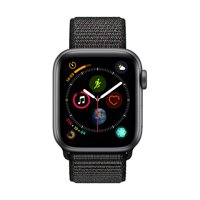 iBite Nitra - Apple Watch Series 4 GPS, 40mm Space Grey Aluminium Case with Black Sport Loop G1