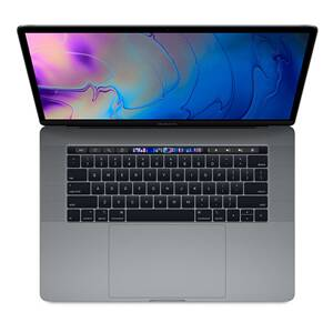 "MacBook Pro 15,4"" Touch Bar (2019) Retina Display Intel Core i7 2.6GHz 6-Core 16GB RAM 256GB - Space Gray"