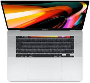 "MacBook Pro 16"" Touch Bar (2019) Retina Display Intel Core i7 2.6GHz 6-Core 16GB RAM 512GB - Silver"